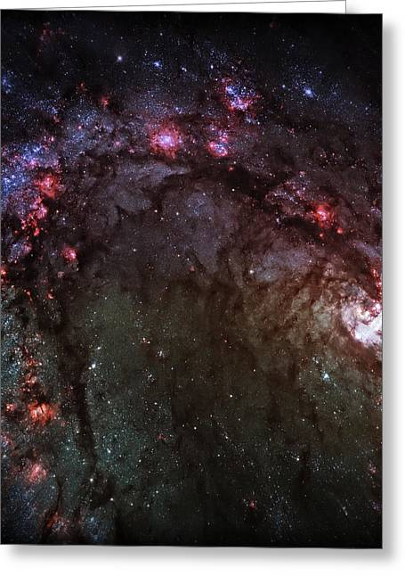 Psychedelic Space Art Greeting Cards - Star Birth 2 Greeting Card by The  Vault - Jennifer Rondinelli Reilly