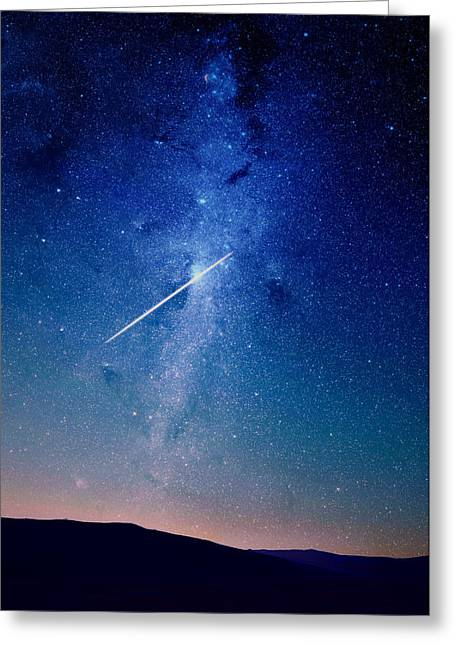 Star Gazing Greeting Cards - Star Gazing Greeting Card by Mountain Dreams