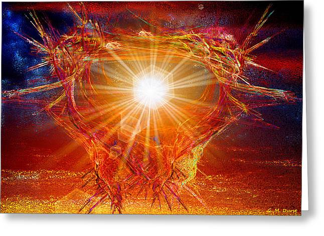 Michael Durst Greeting Cards - Star Light Star Bright Greeting Card by Michael Durst