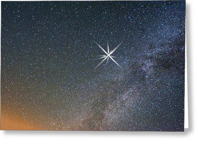 Star Of Bethlehem Greeting Cards - Star Of Bethlehem Greeting Card by Randall Branham
