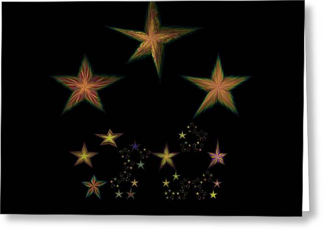 Constellations Greeting Cards - Star of Stars 10 Greeting Card by Sora Neva