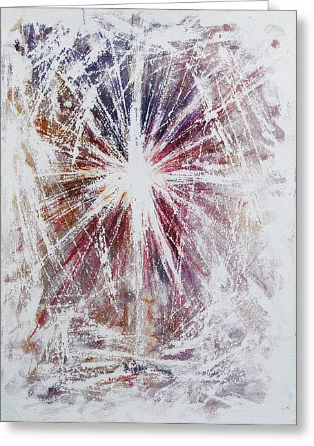 Star Of Bethlehem Paintings Greeting Cards - Star of Wonder Greeting Card by Rachel Christine Nowicki