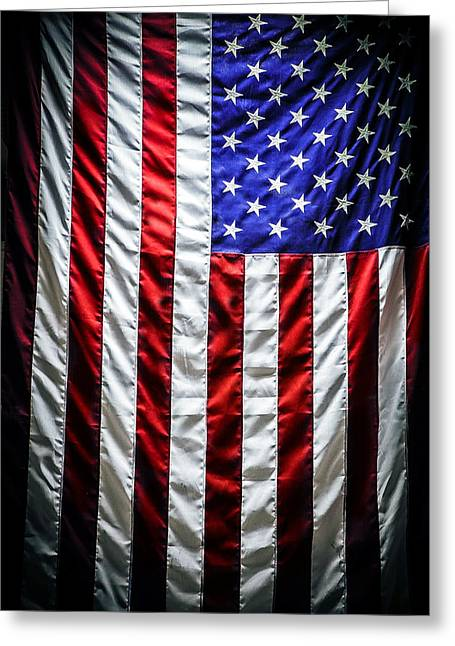 In 1812 Greeting Cards - Star Spangled Banner Greeting Card by Sennie Pierson