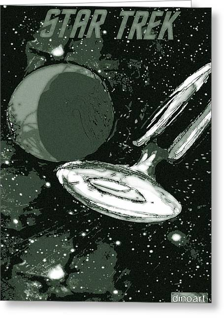 Trekkie Greeting Cards - Star Trek Special Edition Greeting Card by Jazzboy