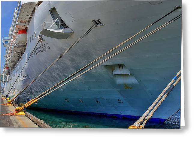 San Diego Harbor Cruise Greeting Cards - Starboard Greeting Card by See My  Photos