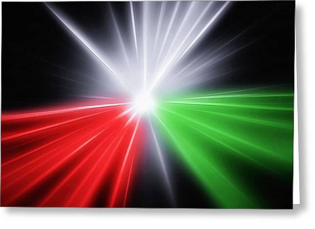 Star Of Bethlehem Greeting Cards - Starburst - Christmas Star Greeting Card by Steve Ohlsen