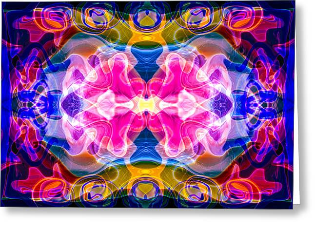 Owfotografik Greeting Cards - Starburst Greeting Card by Omaste Witkowski