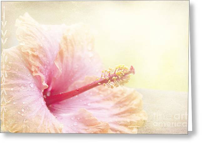 Tropical Flowers Of Hawaii Greeting Cards - Stardust Greeting Card by Sharon Mau