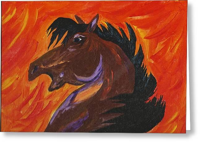 Mark Schutter Greeting Cards - Starfire Greeting Card by Mark Schutter
