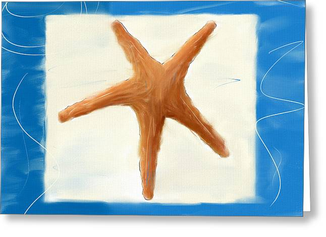 Starfish Galore Greeting Card by Lourry Legarde