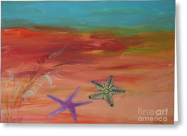 STARFISH Greeting Card by PainterArtist FIN