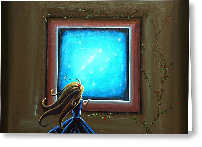 Whimsical. Greeting Cards - Stargazer Greeting Card by Cindy Thornton