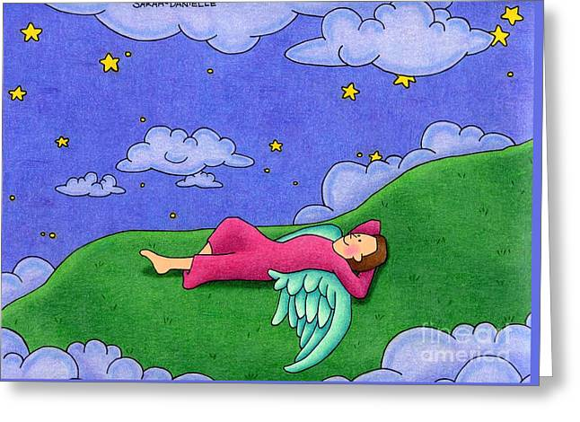 Stargazer Greeting Card by Sarah Batalka