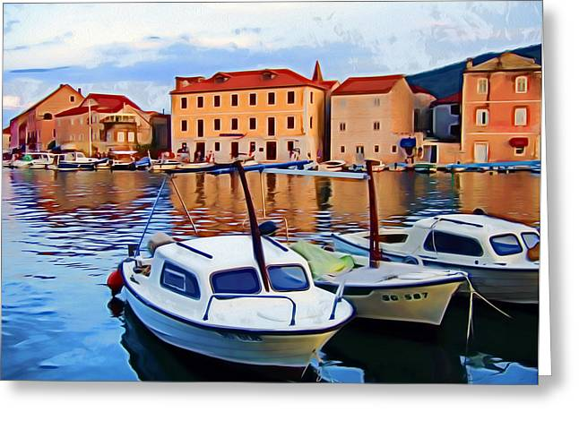Stari Grad Iv Greeting Card by Nikola Durdevic