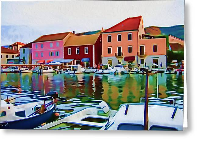 Stari Grad Vii Greeting Card by Nikola Durdevic