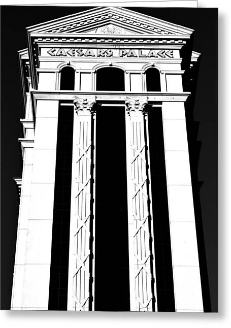 Greek Columns Greeting Cards - Stark Caesers Greeting Card by Benjamin Yeager