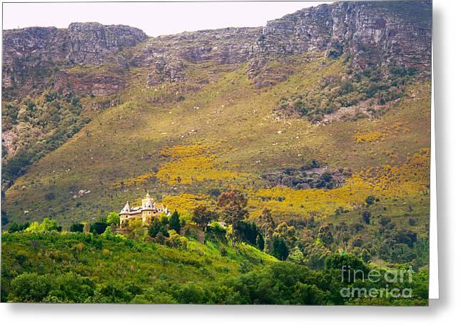 Stellenbosch Greeting Cards - Stark Conde Wine Estate Stellenbosch South Africa 2 Greeting Card by Charl Bruwer