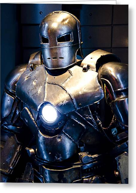 Marvel Comics Photographs Greeting Cards - Stark Suit IV Greeting Card by Ricky Barnard