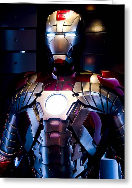 Anaheim California Greeting Cards - Stark Suit VI Greeting Card by Ricky Barnard