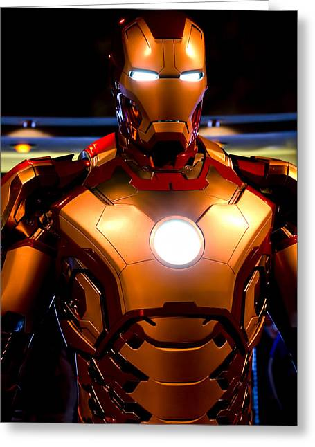 Anaheim California Greeting Cards - Stark Suit VIII Greeting Card by Ricky Barnard