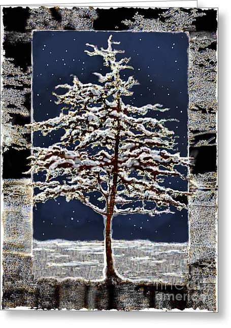 Starlight Greeting Card by Ursula Freer