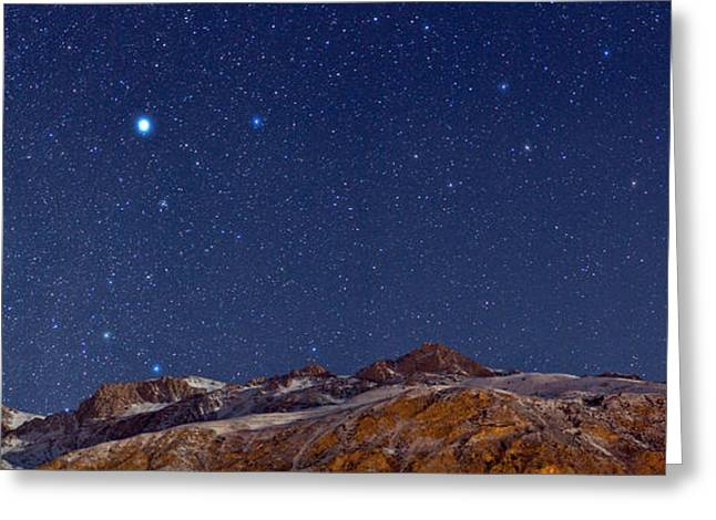 Outerspace Greeting Cards - Starry Night Greeting Card by Babak Tafreshi