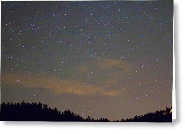 Starry Night Greeting Card by James BO  Insogna