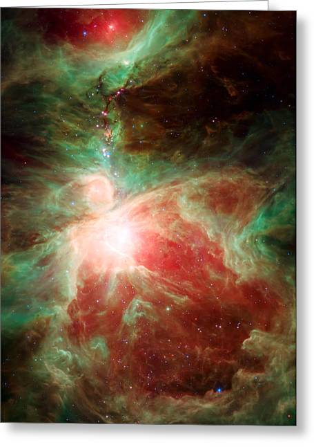 Orion Nebula Greeting Cards - Stars and Orions Sword Greeting Card by The  Vault - Jennifer Rondinelli Reilly