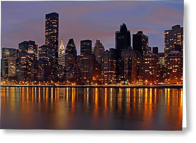 Gotham City Greeting Cards - Stars of New York City Greeting Card by Juergen Roth