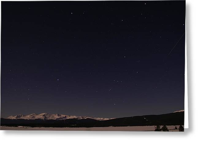 Mt. Massive Greeting Cards - Stars Over Sawatch Greeting Card by Jeremy Rhoades