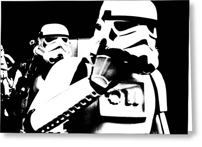 Starwars Troopers Greeting Card by Toppart Sweden