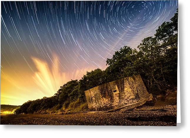 River Medway Greeting Cards - Stary Night Greeting Card by Ian Hufton
