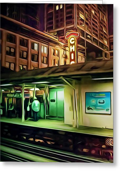 Elevated Greeting Cards - State and Lake Greeting Card by Scott Norris