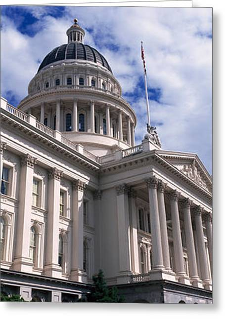 State Capital Greeting Cards - State Capital Sacramento Ca Usa Greeting Card by Panoramic Images