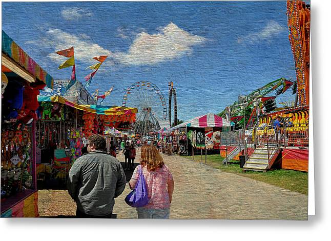 Wv Greeting Cards - State Fair Greeting Card by Todd Hostetter