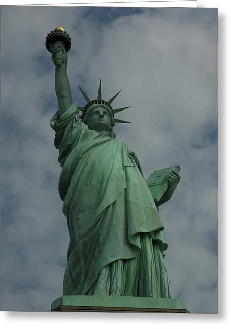 France Doors Digital Art Greeting Cards - Statue of Liberty Greeting Card by National Park Service