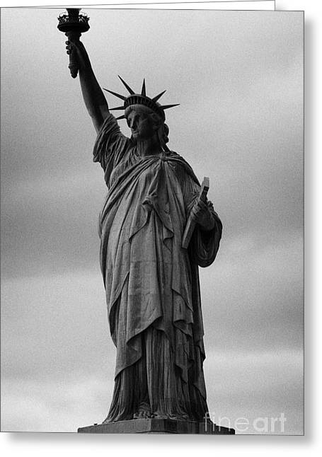 American Independance Photographs Greeting Cards - Statue of Liberty new york city usa Greeting Card by Joe Fox