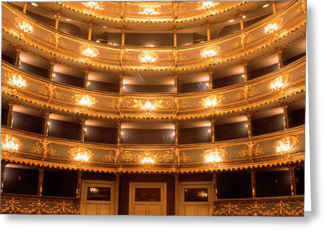 Theater Greeting Cards - Stavovske Theater, Prague, Czech Greeting Card by Panoramic Images