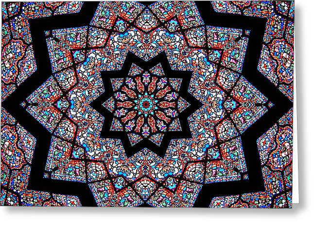 Ste. Chapelle Greeting Card by Dawn LaGrave