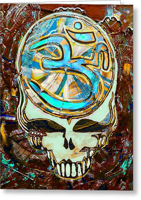 Friend Glass Art Greeting Cards - Steal Your Search For The Sound THREE Greeting Card by Kevin J Cooper Artwork
