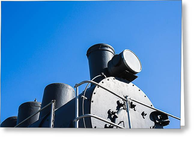 Puffer Greeting Cards - Steam And Iron - Aristocrat Of The Old Style Greeting Card by Alexander Senin