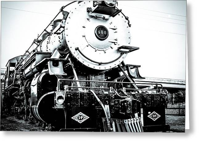 Steam Engine 400 Greeting Card by Geoff Mckay