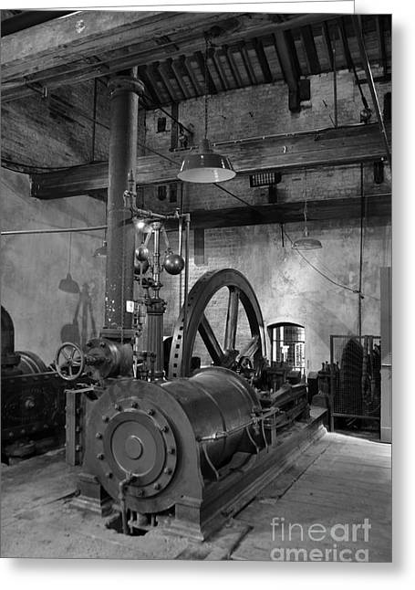 Cog Greeting Cards - Steam engine at Lockes Distillery Greeting Card by RicardMN Photography