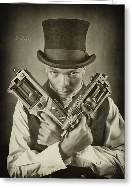 Steampunk Photographs Greeting Cards - Steam Punkz I Greeting Card by David April