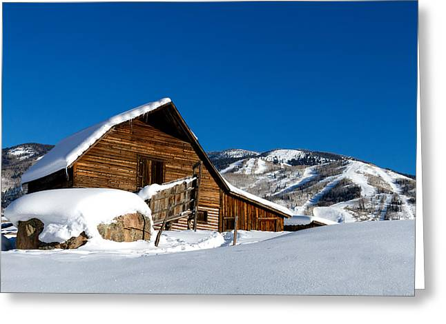 Steamboat Greeting Cards - Steamboat Springs History Greeting Card by Teri Virbickis