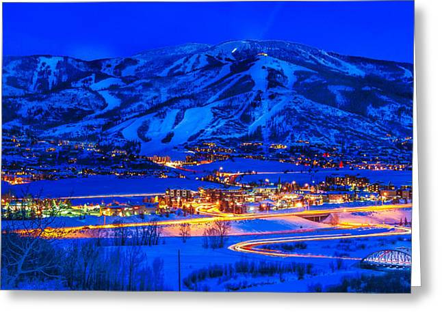 Steamboat Springs Greeting Card by Kevin  Dietrich
