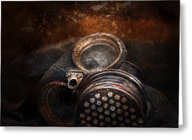 Doomsday Greeting Cards - Steampunk - Doomsday  Greeting Card by Mike Savad