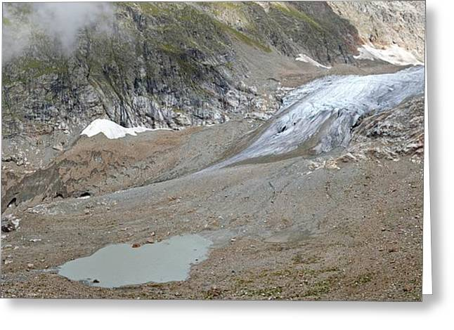 Stei Greeting Cards - Stein glacier, Switzerland Greeting Card by Science Photo Library