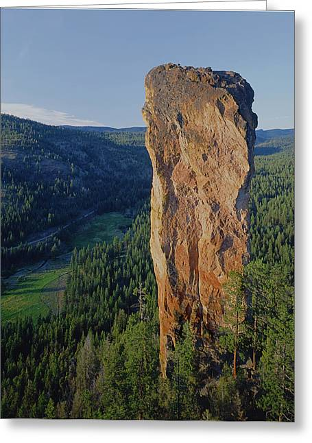 Stein Greeting Cards - Steins Pillar Greeting Card by Ed  Cooper Photography