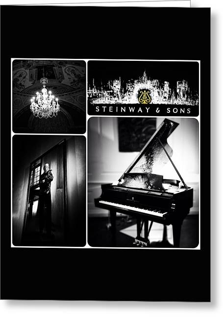 Natasha Marco Greeting Cards - Steinway and Sons Greeting Card by Natasha Marco
